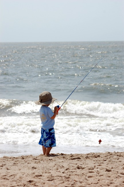 Fishing on Edisto Beach, SC