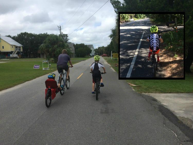Riding Bikes on Edisto