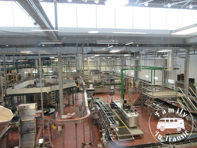 New Belgium Brewing Tour