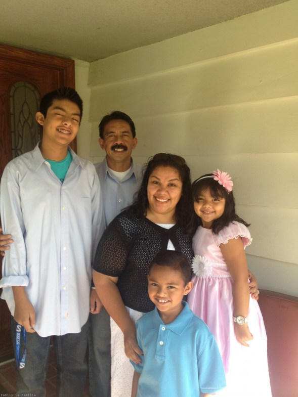 Family during Easter