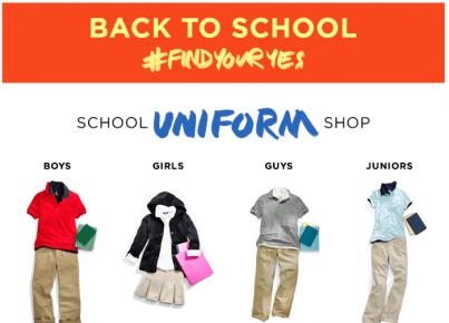 Kohl's School Uniforms -familyisfamilia