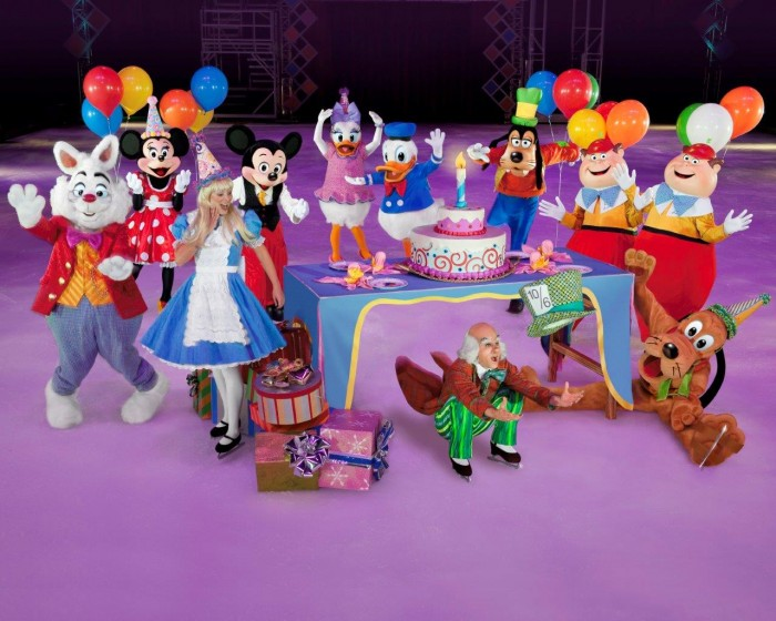 Disney on Ice Characters in California