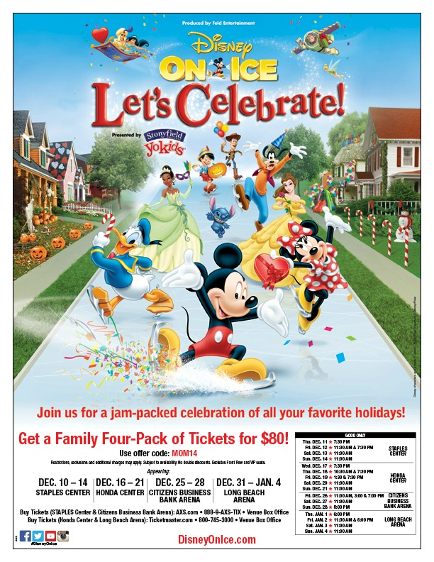 discount for Disney on Ice in California