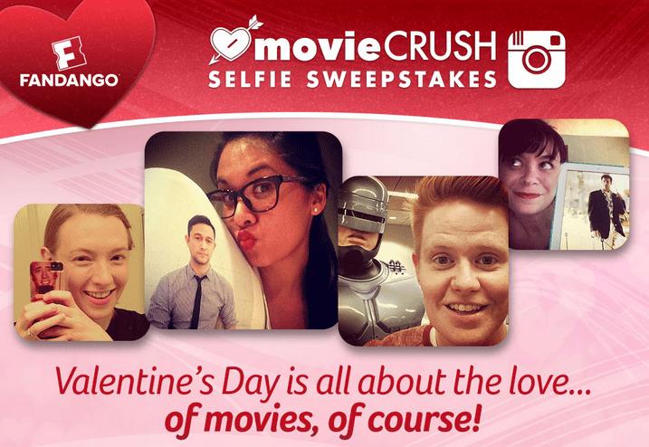 Movie Crush Selfies- #MovieCrushSelfieSweeps