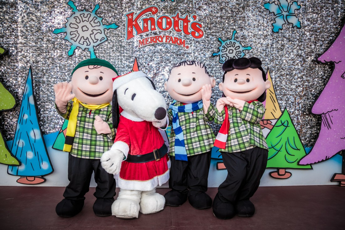 Christmas time at Knott's Berry Farm