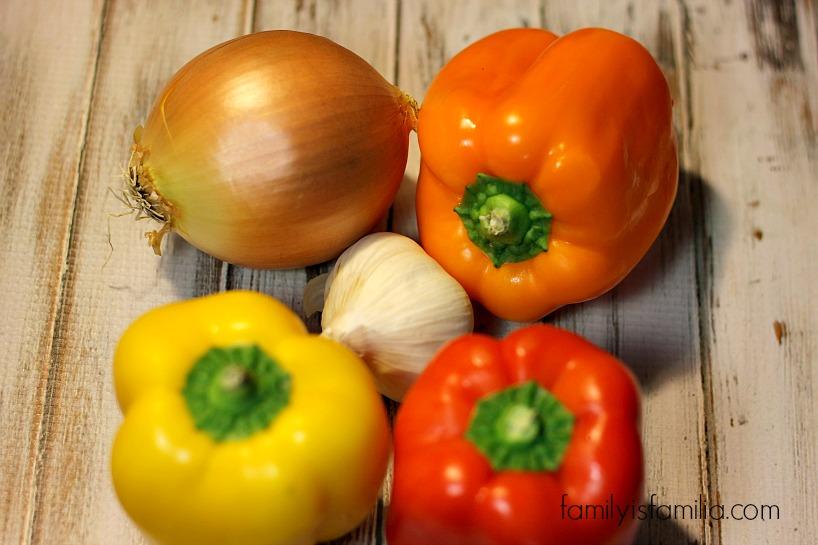 veggies for chicken pasta- familyisfamilia.com