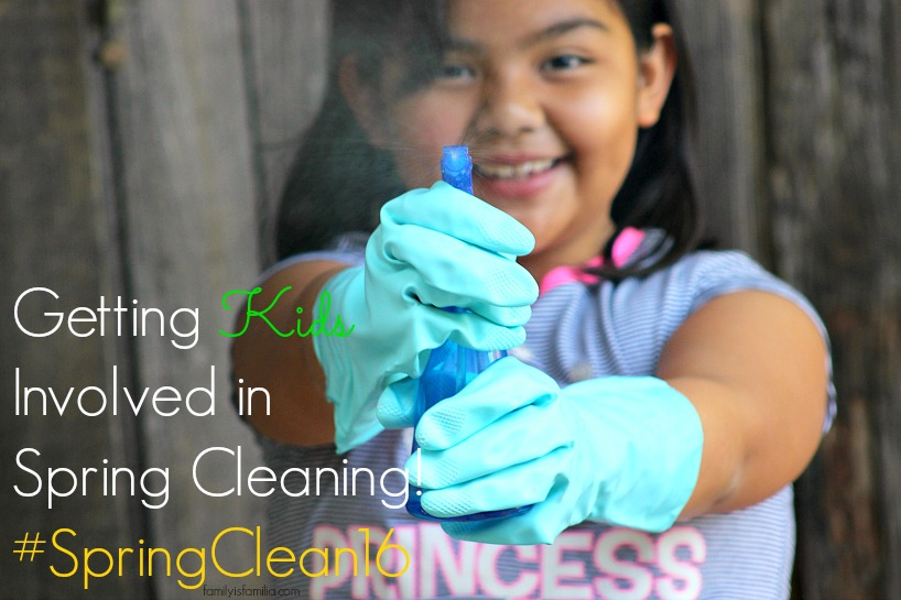 Get the Kids Involved in Spring Cleaning! #SpringClean16