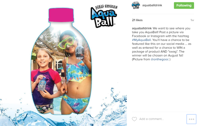 Where do you AquaBall? #MyAquaBall