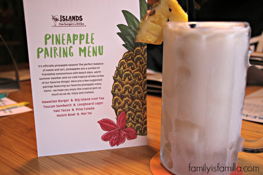 Delicious Pineapple Season at Islands Restaurants