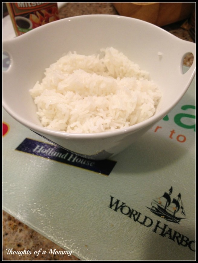 White rice to serve with Ginger Beef