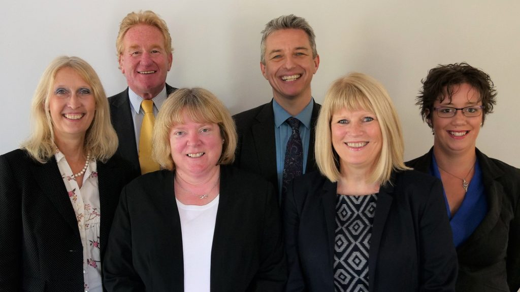 Some of the team at Ian Walker Family Law and Mediation Solicitors: Family Law Solicitors Exeter