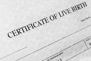 Birth certificate does not give enforceable rights