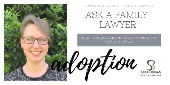 Step Parent Adoption Family Lawyers Sydney