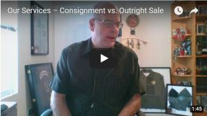 Our Services – Consignment vs. Outright Sale