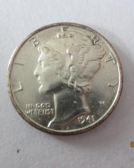 Sharp BU Condition 1941d mercury silver dime nice eye appeal
