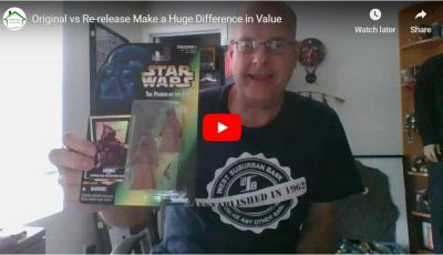 Original vs Re-release Make a Huge Difference in Value