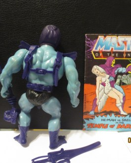 Masters of the Universe 1982 vintage MOTU Complete soft Head Skeletor figure