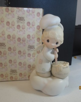 Vintage in box Precious Moments figurine #E9274 Taste and see the lord is good 1983