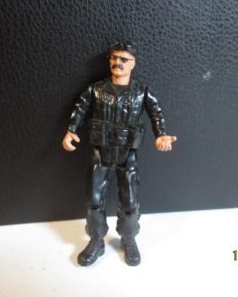 Vintage Sgt Rock Snake action figure 1982