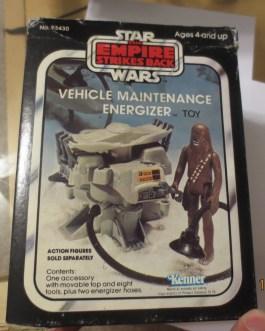 Star Wars Empire Strikes Back Vehicle Maintenance Energizer 1982 Kenner w/Box