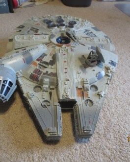 Star Wars – 1995 Power of the Force – Electronic Millennium Falcon – WORKs Near complete