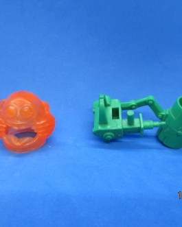 Real Ghostbusters 1987 Fright Features Winston Zeddemore weapon & ghost