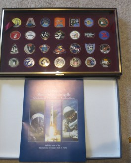NASA Mercury Gemini Apollo Cloisonne Medallion Collection – Intl. Aerospace HOF