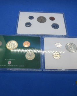 1965 1966 1967 No Mintmark Year sets Silver halves in each set Many bu