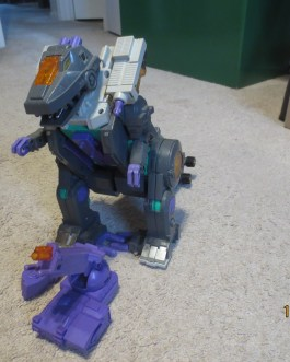Transformers G1 Vintage 1986 – Trypticon – Figure – Working Electronics