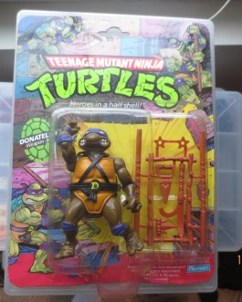 Vintage 10 back MOC TMNT Teenage Mutant Ninja Turtle 1988 Donatello figure b