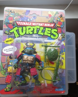 TMNT 1990 Teenage Mutant Ninja Turtles Leonardo Leo The Sewer Samurai MOC Sealed