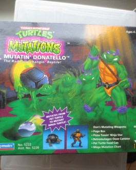 1992 Playmates Teenage Mutant Ninja Turtles Mutations MUTATIN' RAPHAEL MIB TMNT