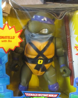 Donatello Teenage Mutant Ninja Turtle TMNT Giant Size 1989 w/ Retail Box