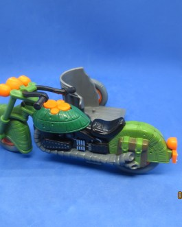 1989 Vintage Playmates TMNT TURTLECYCLE with Figure Motorcycle Vehicle Cycle