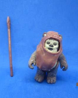 KENNER 1984 STAR WARS WICKET EWOK ACTION FIGURE COMPLETE NO COUNTRY OF ORIGIN