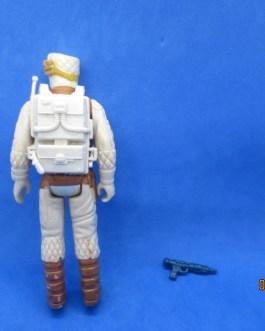 Vintage Star Wars HOTH Rebel Soldier 100% Complete & Survival Backpack 1980