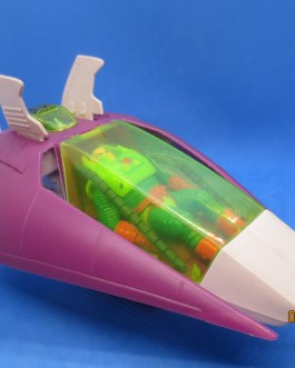Lex Soar 7 with Lex Luthor 100% Complete W Kryptonite Super Powers Kenner 1984