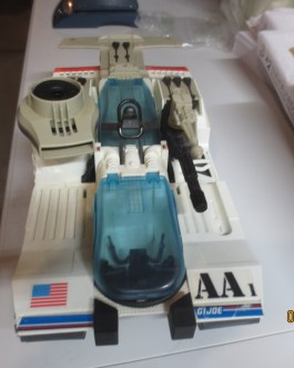 1990 Gi Joe Complete Avalanche Figure Vehicle nice