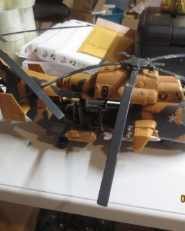 1986 Gi Joe complete Tomahawk Helicopter Vehicle nice