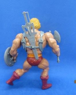 He-Man SOFT HEAD 100% Complete 1982 MOTU Masters of the Universe Vintage