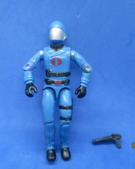 Vintage 1983 GI Joe Cobra Commander Figure Complete