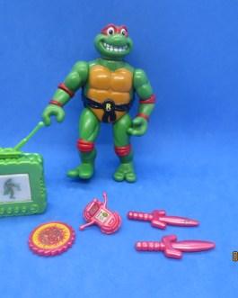 Teenage Mutant Ninja Turtles TMNT 1992 Toon Turtles Raphael Complete