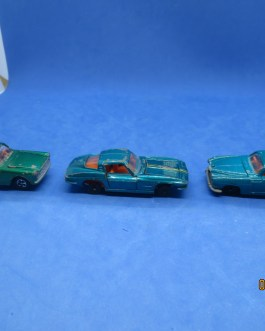 Lone Star Road Master Flyers Diecast Fiat 2300S Jaguar MKX  Gran Turismo