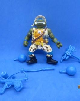 Lieutenant Leonardo – TMNT Teenage Mutant Ninja Turtles 1991 Playmates Complete