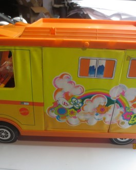 Vintage Barbie Country Camper in box 1970 Mattel RV Vehicle with Accessories