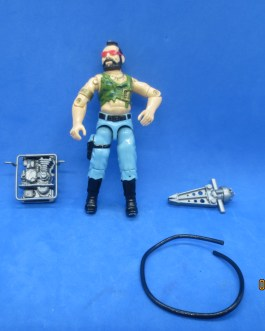 NEW LISTINGDreadnok Ripper v1 Vintage GI Joe 1985 Hasbro Action Figure G.I. Joe