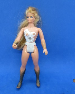 VINTAGE 1984 She-Ra Princess of Power Action Figure Doll White