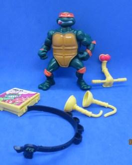 Head Droppin' Mike Complete 1991 TMNT Teenage Mutant Ninja Turtle Playmates