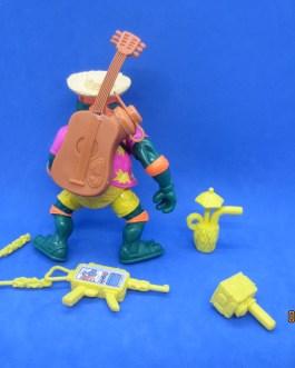 1992 TMNT BEACHCOMBIN' MIKE TEENAGE MUTANT NINJA TURTLES COMPLETE