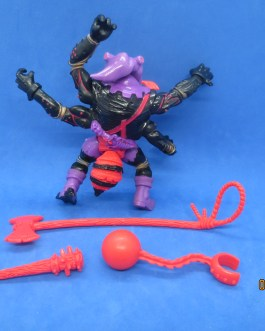 ANTHRAX Complete Weapons Vintage TMNT Action Figure Playmates 1992 RARE
